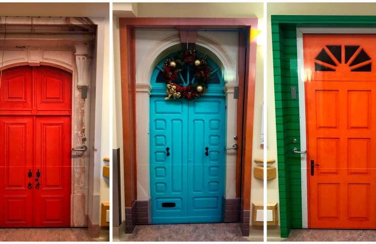 St. Joseph's Dementia Project Patient Doors 01