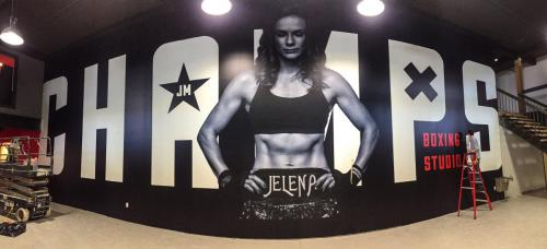 Champs-Boxing-Studio-Murals-Graphics-Illuminated-Signage
