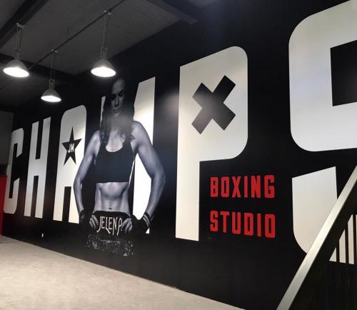 Champs Boxing Studio-Murals-Graphics-Illuminated-Signage-004