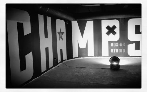 Champs Boxing Studio-Murals-Graphics-Illuminated-Signage-006