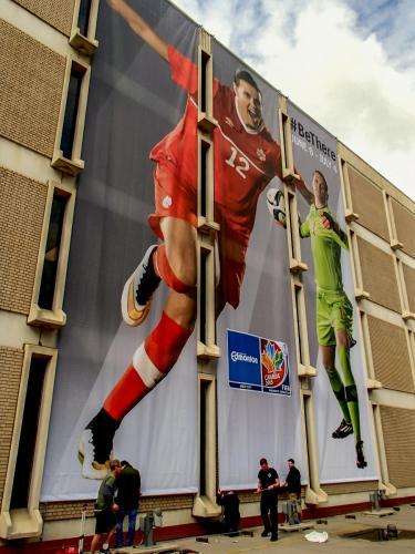 FIFA Soccer Edmonton Banners