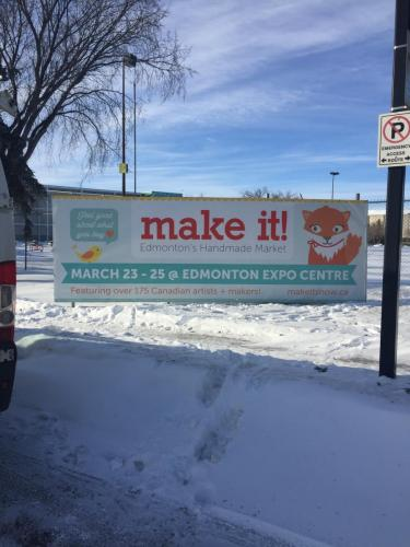 Edmonton Economic Development - Outdoor Banner
