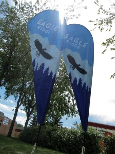 Eagle Ridge Golf Course - Tear Drop Banners