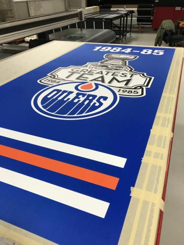 Edmonton Oilers - NHL Greatest Team Banner