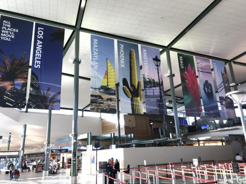 EIA - Hanging Travel Banners