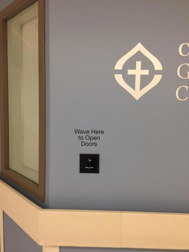Covenant Health - Grey Nuns -  - Braille Wayfinding