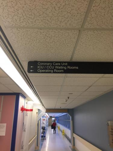 Covenant Health - Grey Nuns -  - Braille Wayfinding 2