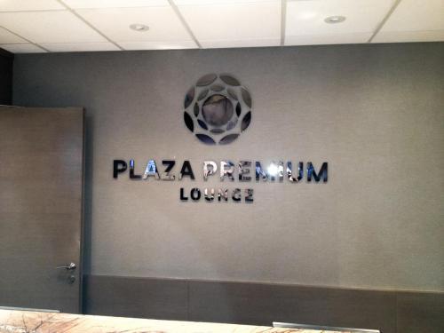 Plaza Premium Lounge - Indoor Building Signage