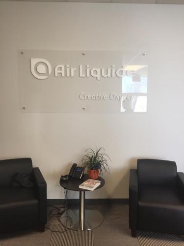 Air Liquide - Wall Signage