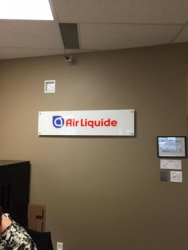 Air Liquide - Wall Signage 2
