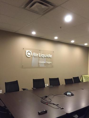 Air Liquide - Wall Signage 4