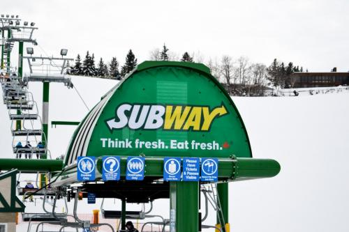 Subway - Exterior Business Signage