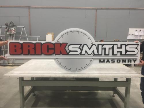 Bricksmiths Exterior Signage