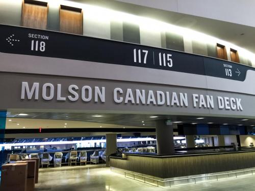Rogers Place - Interior Business Signage