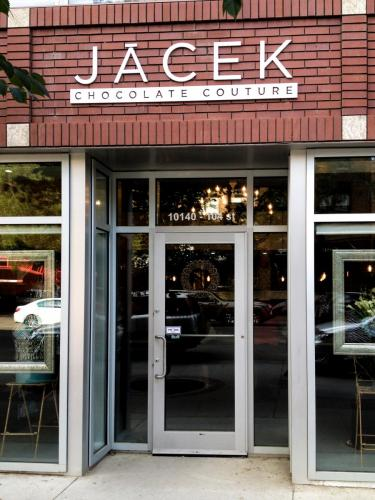 Jacek Chocolates - Outdoor Business Signage