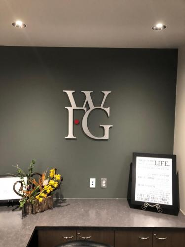 World Financial Group - Brushed Aluminum Business Signs - Letters