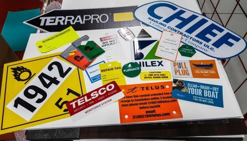 Decals Signage Magnets - Regulatory