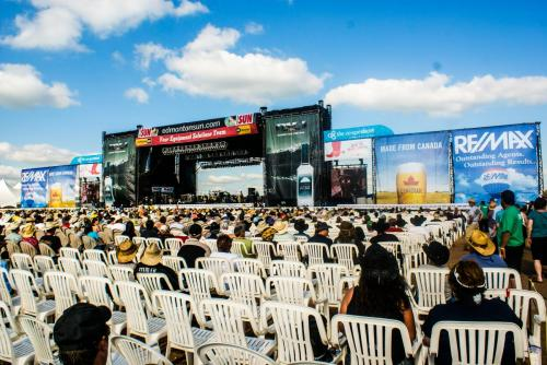 Concert Grandstand - Event Signage