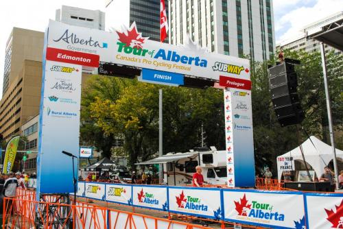 Tour of Alberta - Event Signage