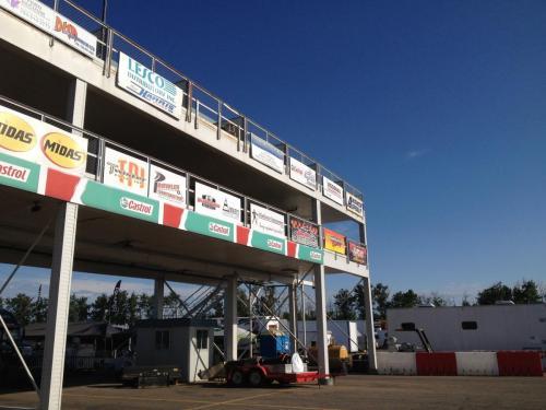 Castrol Raceway - Sponsorship Event Signage