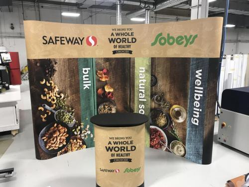 Safeway/Sobeys -  Trade Show Event Signage