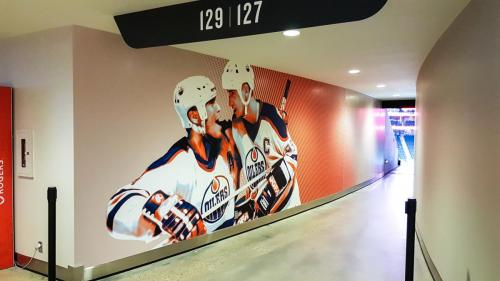 Rogers Place Mural/Wall Graphics - 4