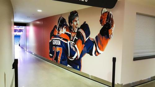 Rogers Place Mural/Wall Graphics - 6