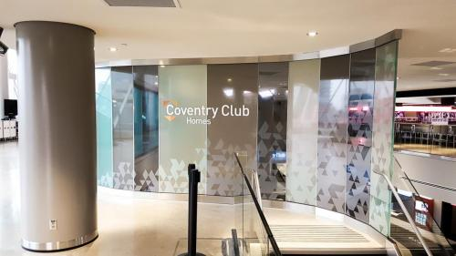 Rogers Place Coventry Club -  Wall Signage 2