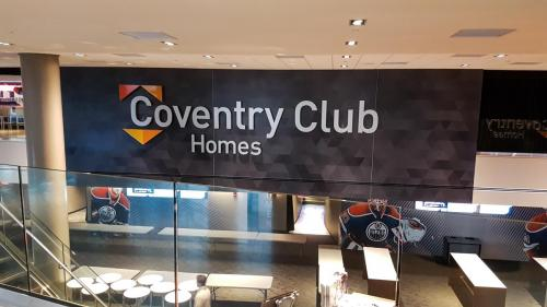 Rogers Place Coventry Club -  Wall Signage 1
