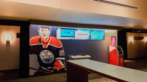 Rogers Place Mural/Wall Graphics - 8