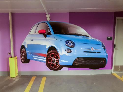 Kelly Ramsey Parkade - Mural/Wall Graphics - 1