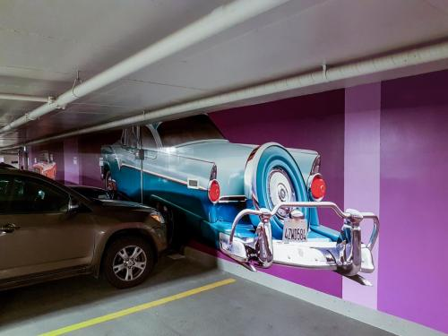 Kelly Ramsey Parkade - Mural/Wall Graphics - 2
