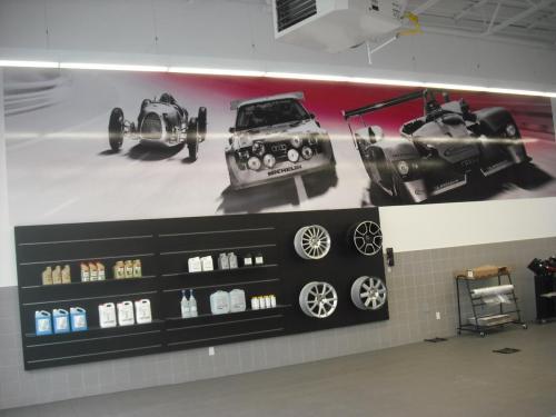 Audi Edmonton North - Mural/Wall Graphics