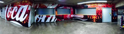 Coca Cola Murals - Wall Graphics - Murals