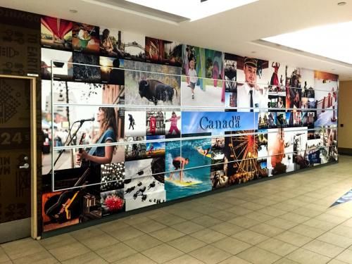 Edmonton Tourism EIA - Wall Graphics - Murals