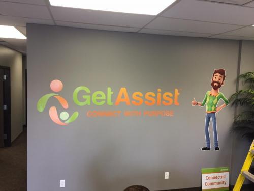 Get Assist - Wall Graphics - Murals
