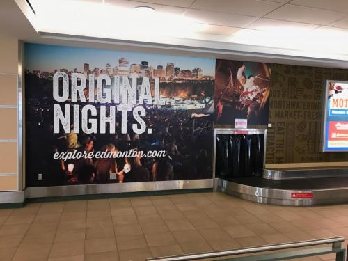 Edmonton Tourism EIA - Wall Graphics - Murals 2