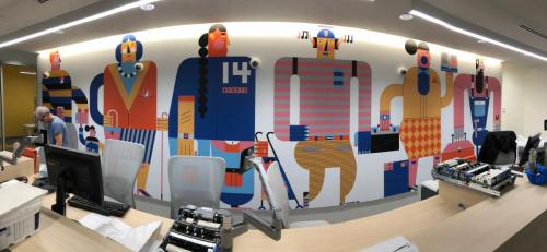 Makespace - Wall Mural - Wall Graphics