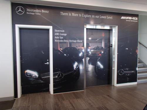 Heritage Mercedes Benz - Wall Mural/Wall Graphics