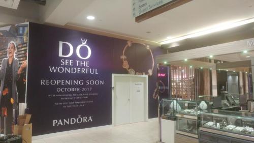Pandora - Kingsway Mall - Wall Mural - Wall Graphics