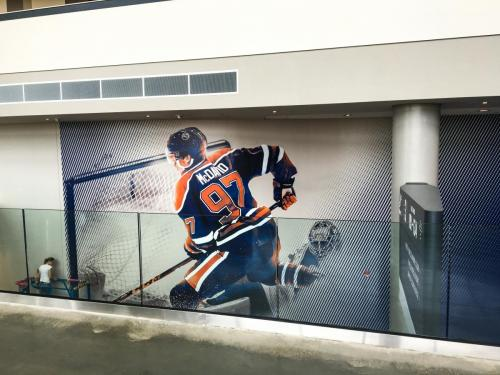 Rogers Place Mural/Wall Graphics - 1