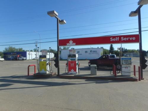 Redwater - Petrocanada Regulatory Signage