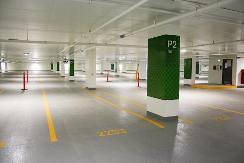 Stantec Parkade Edmonton - Pillar Wraps