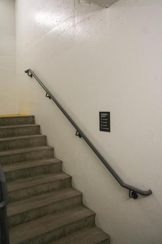Stantec Parkade Edmonton - Stairwell Signage