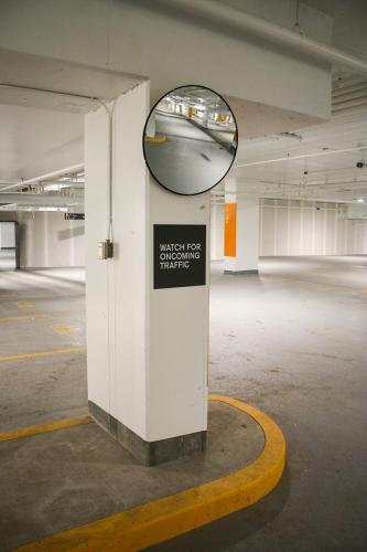 Stantec Parkade Edmonton - Pillar Signage