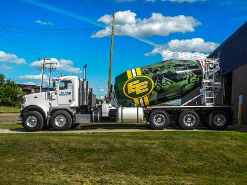 Inland Cement - Vehicle Wrap