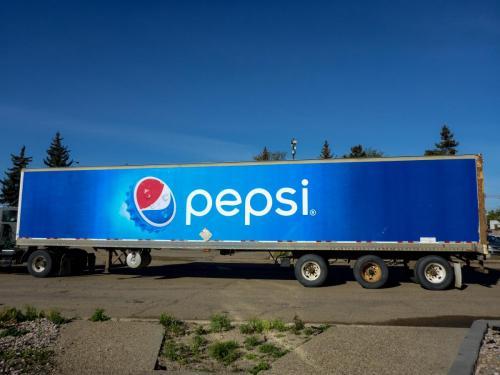 Pepsi -  Vehicle Graphics