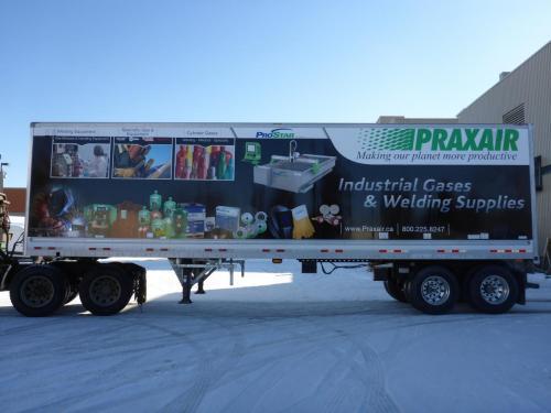 Praxair- Vehicle Graphics