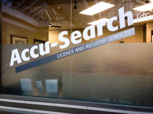 Accu-Search - Window Graphics