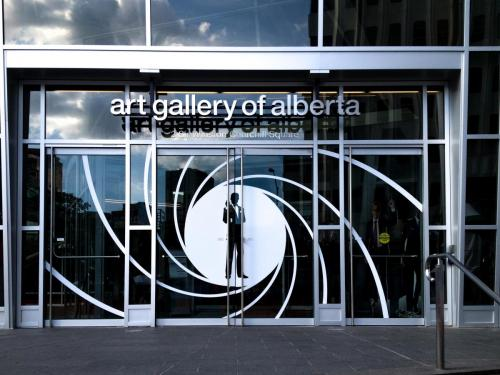 Art Gallery of Alberta - Exterior Window Graphics